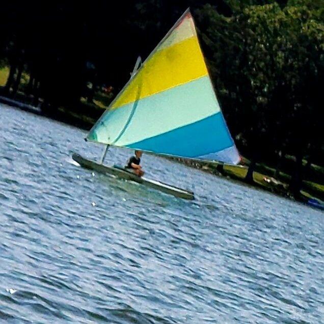 Kellie Zbignewich Sailboat on Deep Creek Lake, MD