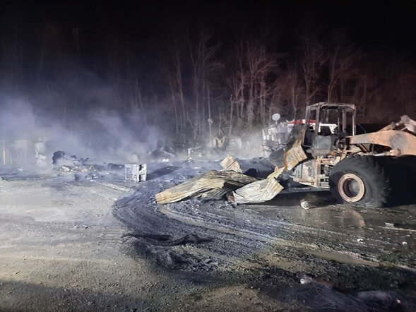 maryland minerals fire 12-31-20