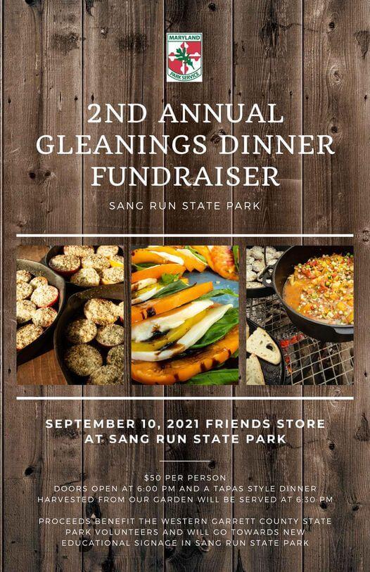2nd Annual Gleanings Dinner Fundraiser