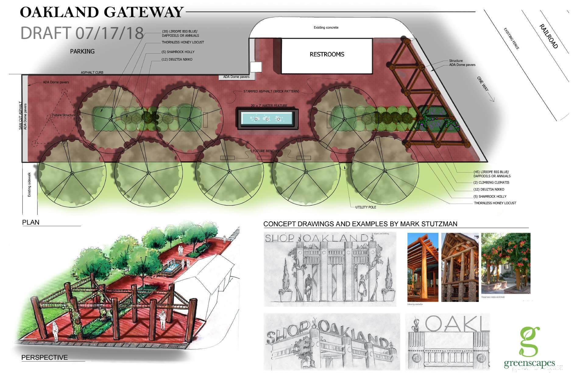 Mark Stutzman Proposed Pedestrian Entrance