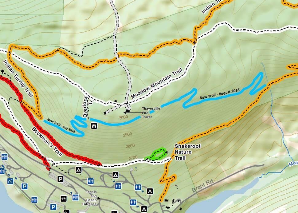 Deep Creek Lake Mountain Bike Trail - Deep Creek Times on
