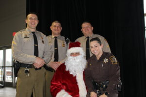 Deep Creek Lake, MD Police Providing Presents event