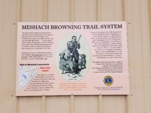 New Meshach Browning Trail in Deep Creek Lake, MD
