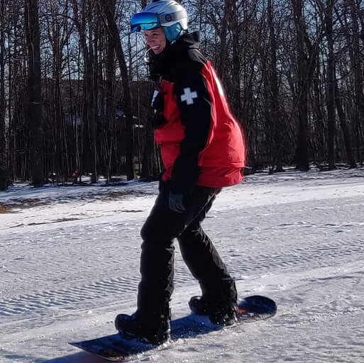Big Smiles Snowboarding from Instapamd in Deep Creek Lake, MD at Wisp Resort