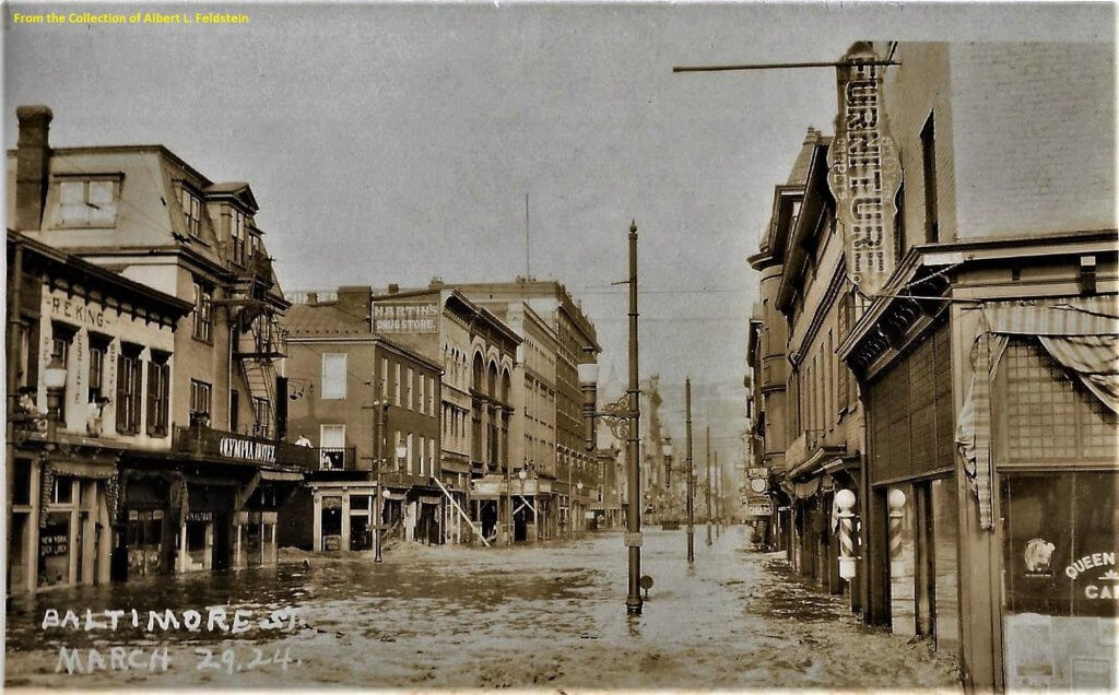 Historic Cumberland Flooding Courtesy of Al Feldstein