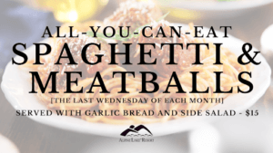 ALR All-You-Can-Eat Spaghetti and Meatballs