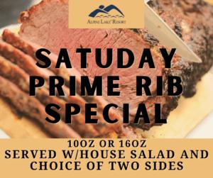 ALR Prime Rib Special