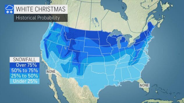Accuweather White Christmas Chances
