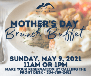 Alpine Lake Resort: Mother's Day Brunch Buffet