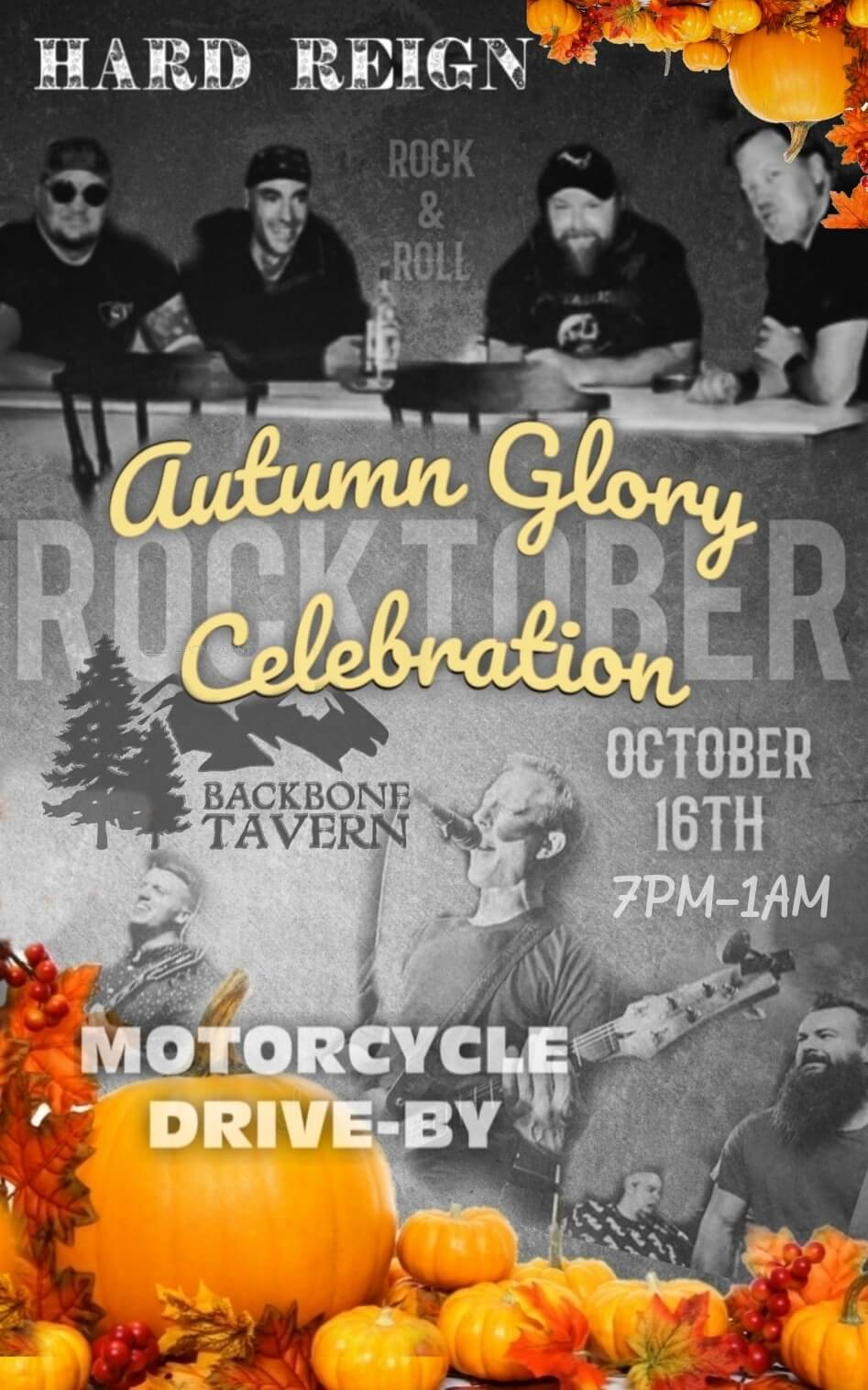 Backbone Tavern: Autumn Glory Celebration