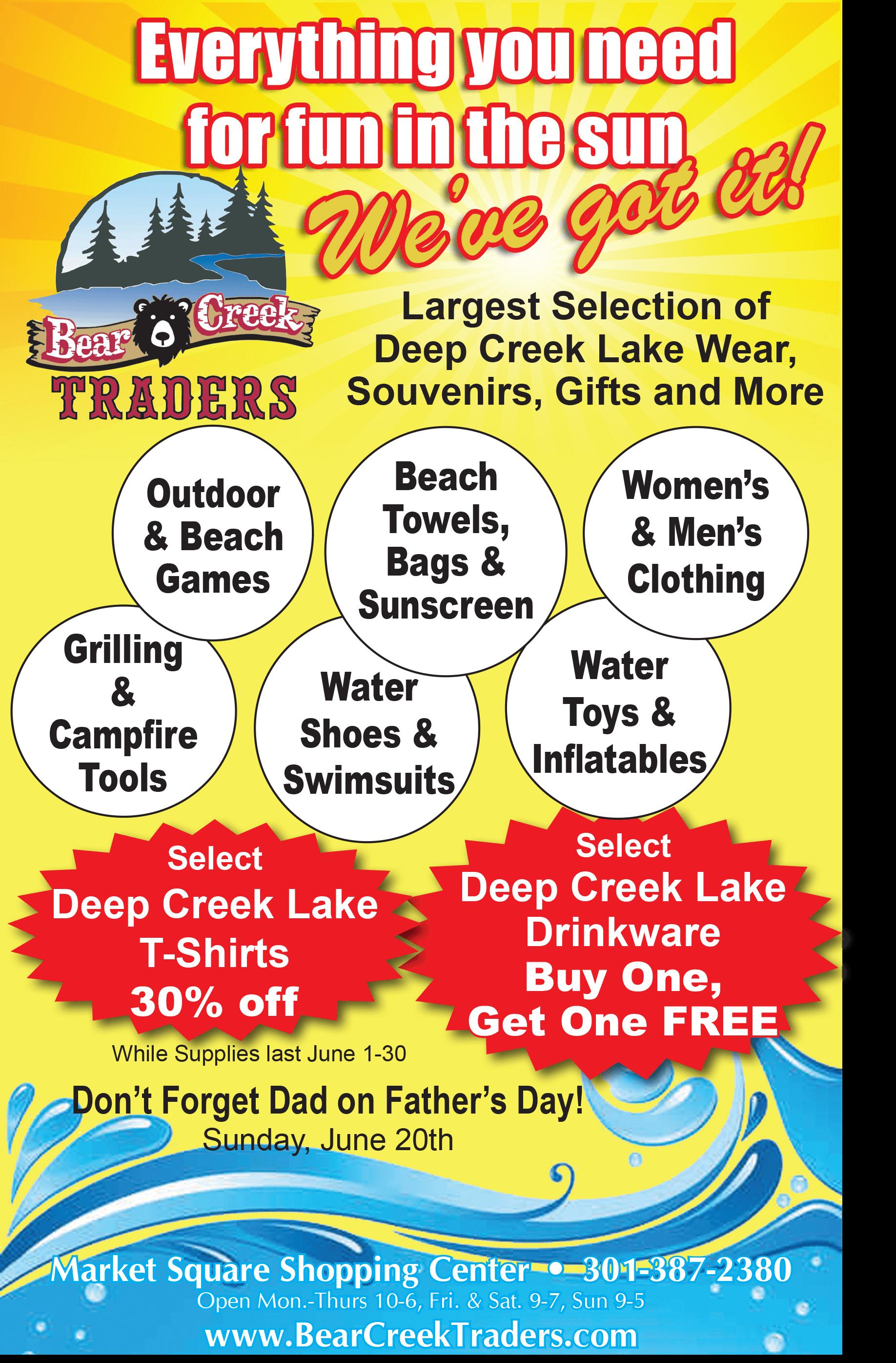Bear Creek Traders - April 2021