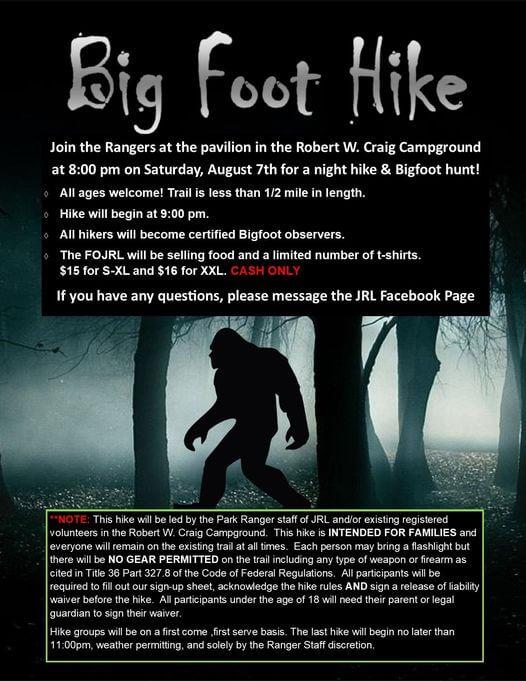 Bigfoot Night Hike