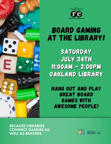 Board Gaming at the Library!
