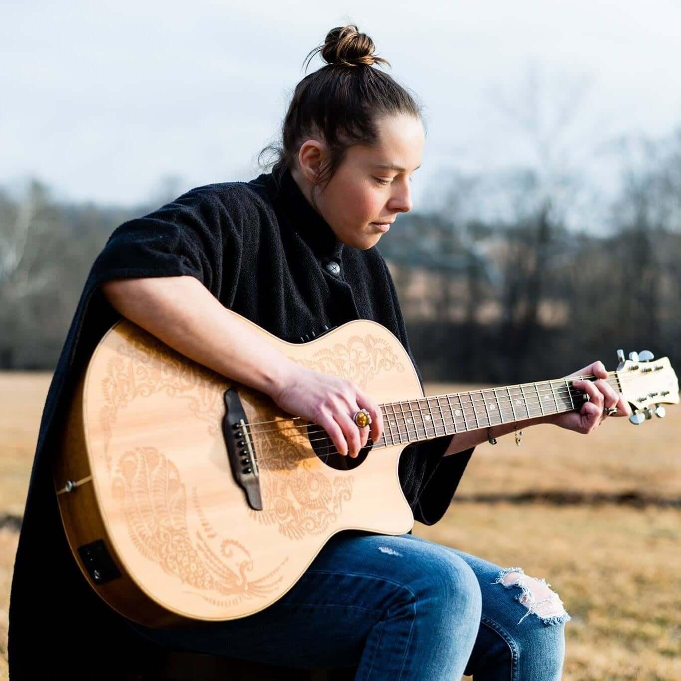 Briana Merkel & Dave Williams (Acoustic Guitar/Mandolin) at MoonShadow