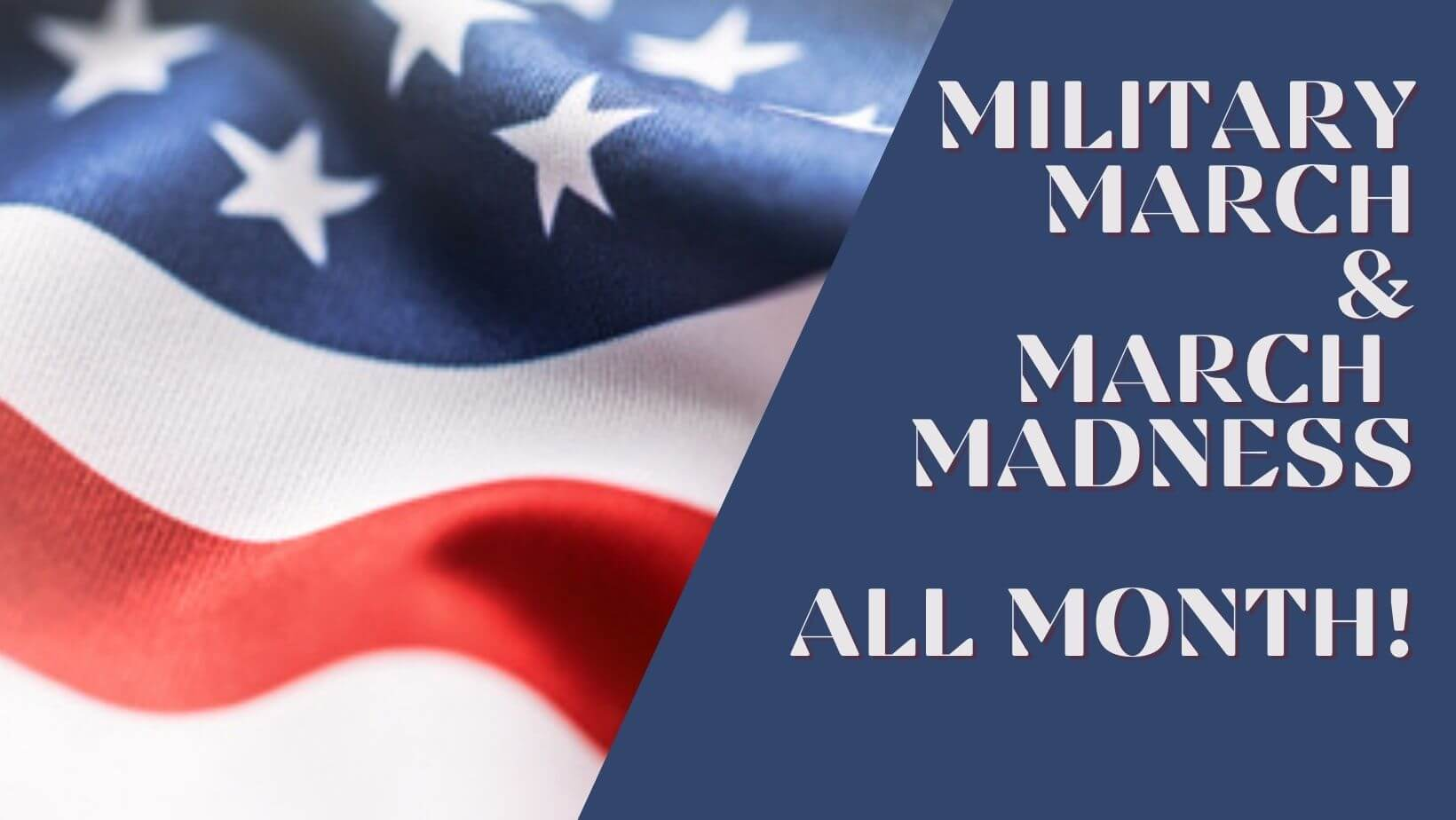 Cashmere Clothing Co. - Military March & March Madness