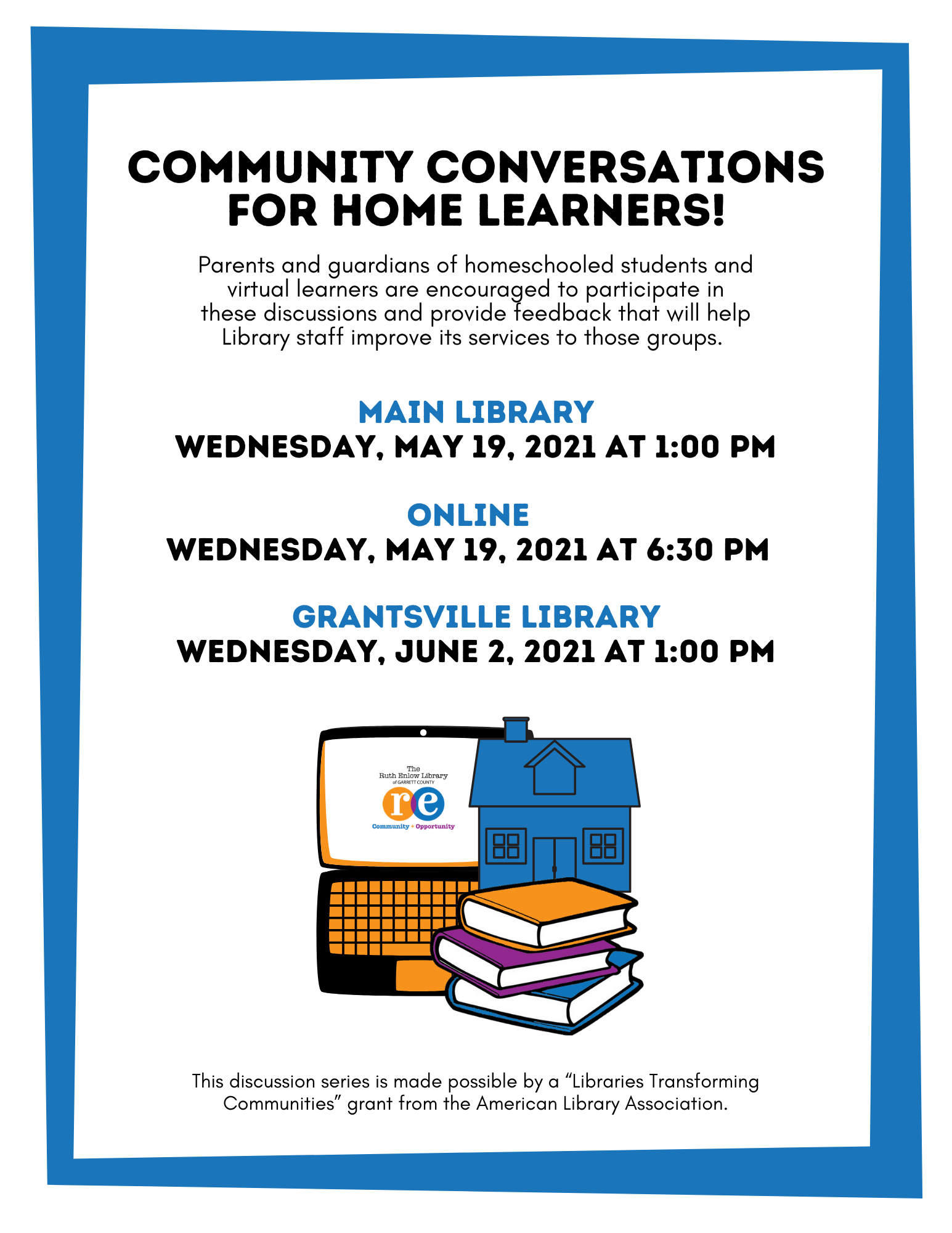 Community Conversations for Home Learners