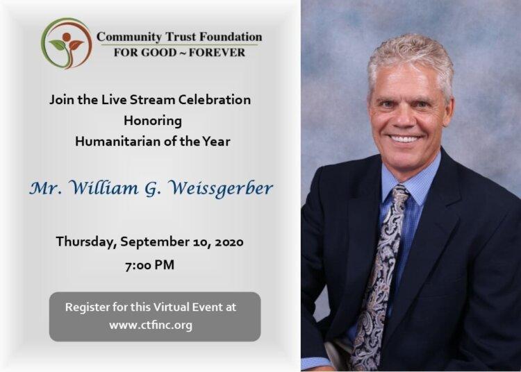 Community Trust Foundation Live Stream Announcement
