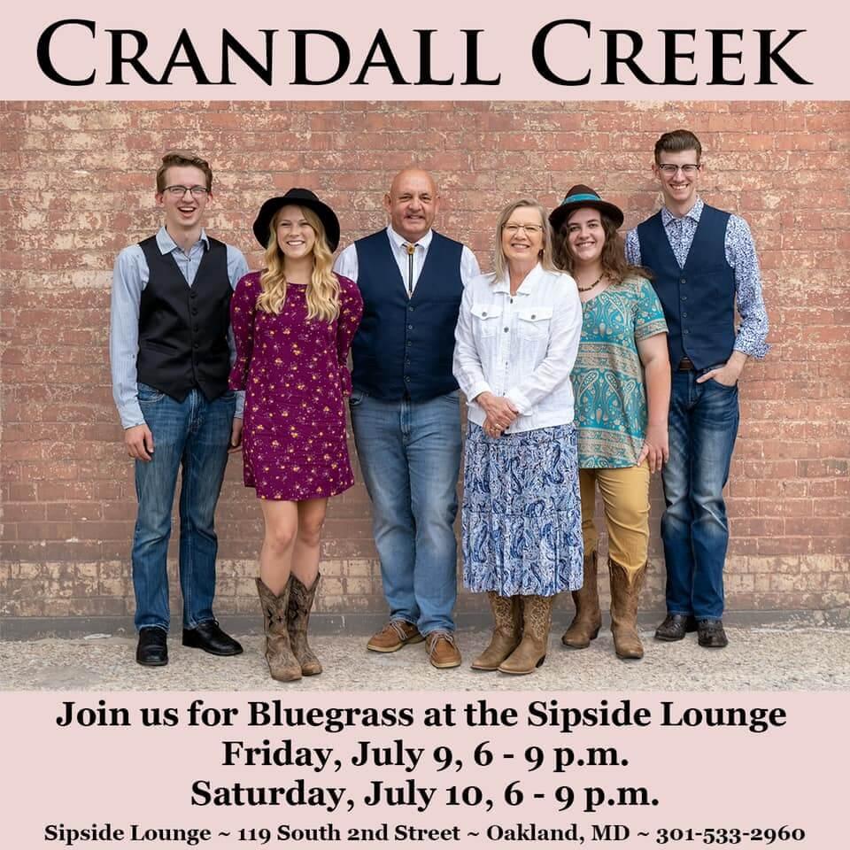 Crandall Creek Bluegrass Band at Sipside Lounge