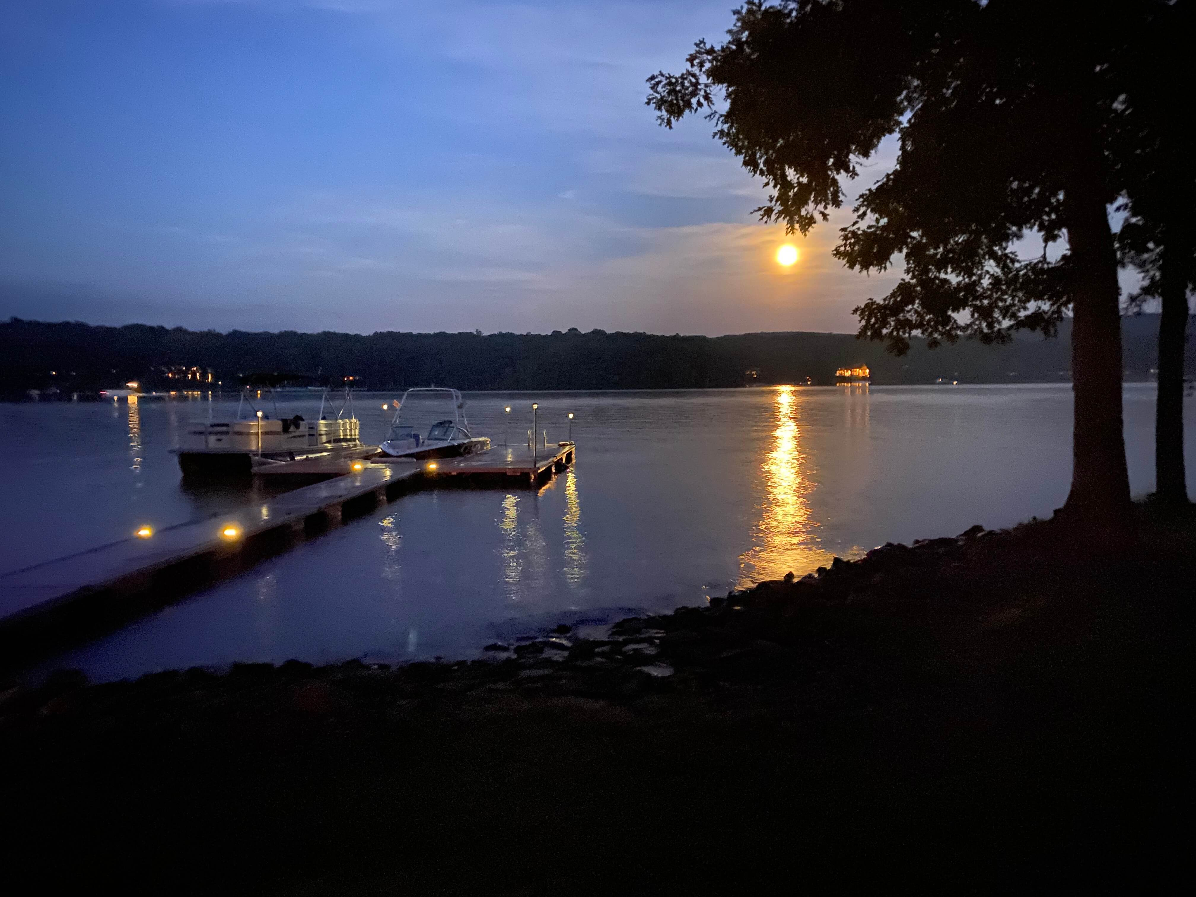 Curt Schnur Moon at Deep Creek Lake, MD