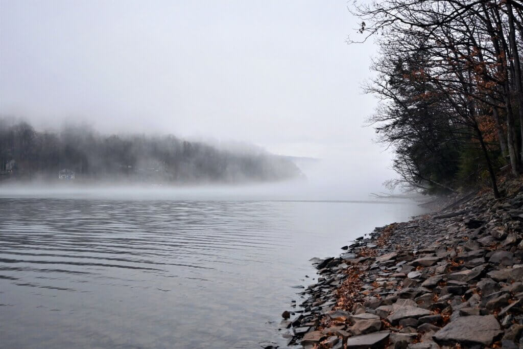 lake morningainsley benton