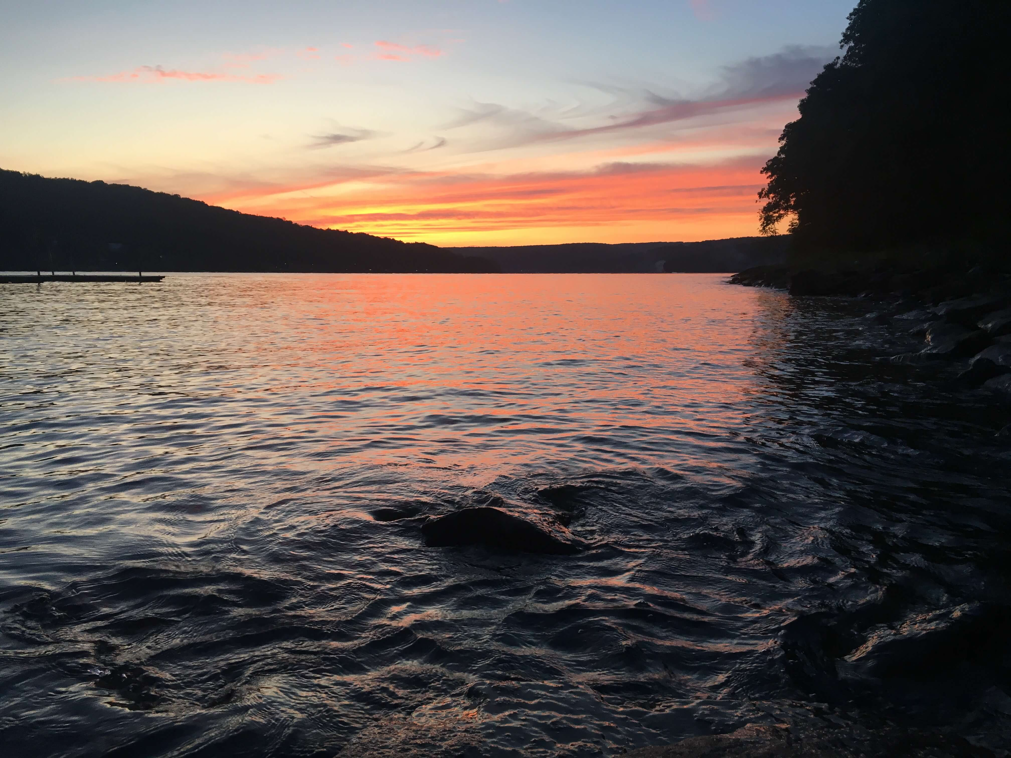 Deep Creek Lake State Park Sunset by Catherine Gardner