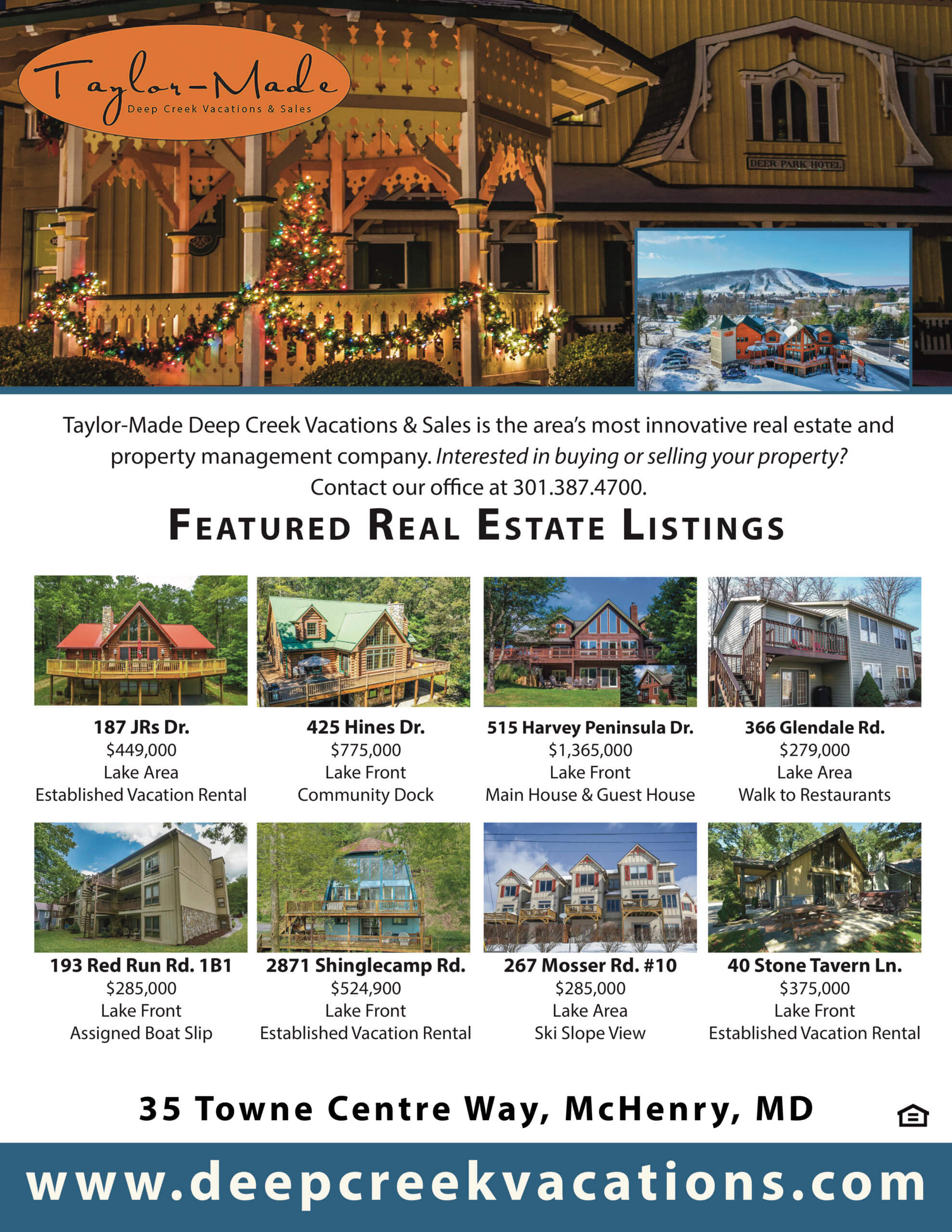 Taylor Made Real Estate December 2019