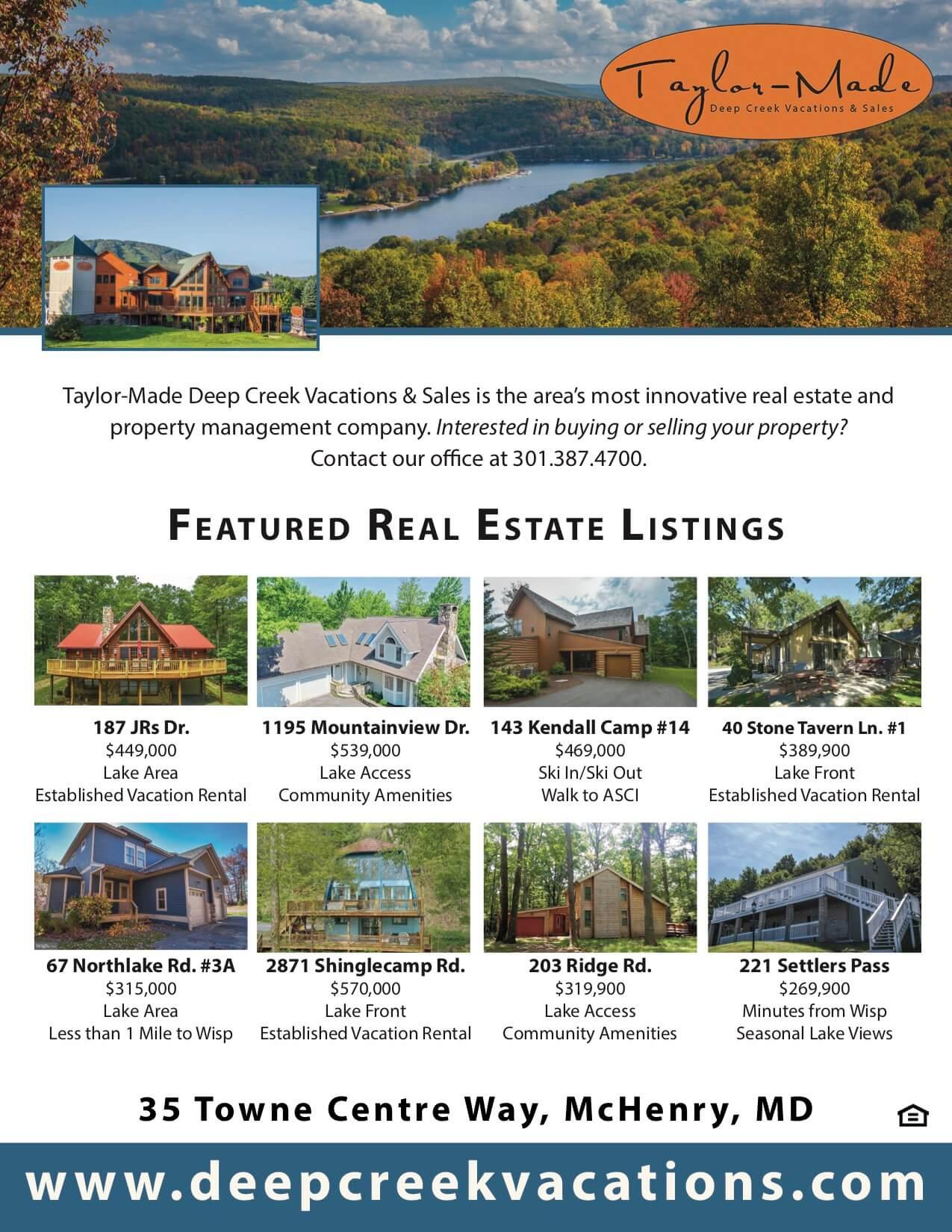 Taylor Made Real Estate October 2019