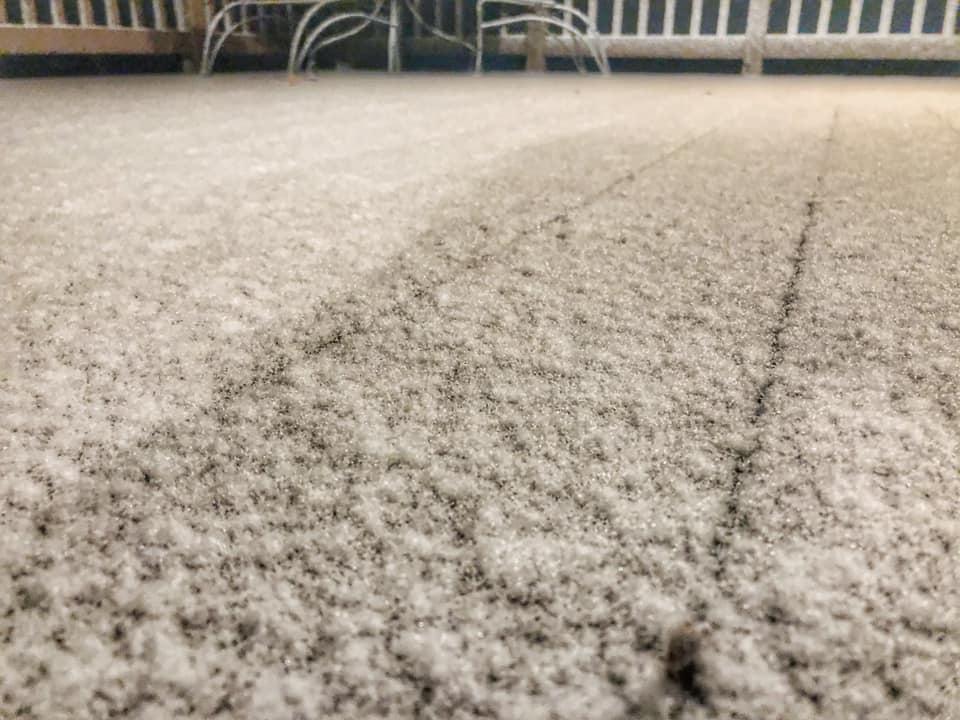 Deep Creek Times Snow on November 7, 2019