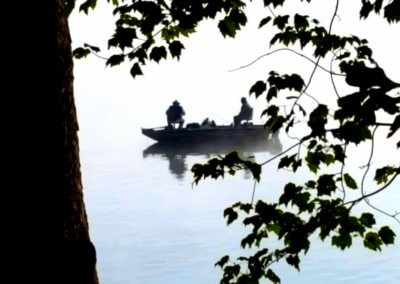 Denny Long Fisherman at Deep Creek Lake, MD
