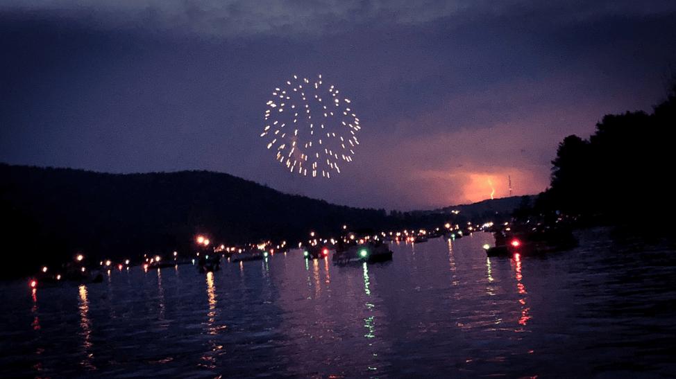 Ed B Deep Creek Lake, MD Fireworks