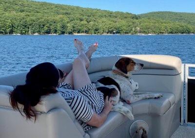 Eric Williams Boat at Deep Creek Lake, MD