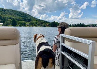 Eric Williams Dog3 at Deep Creek Lake, MD