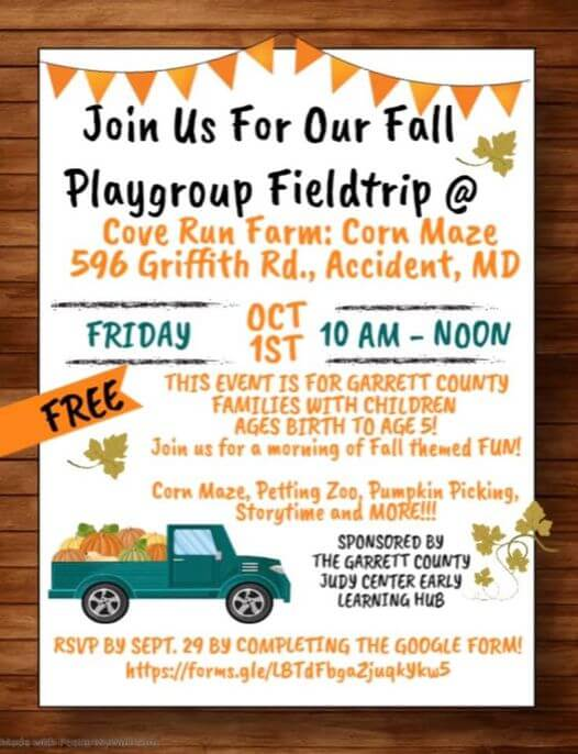 Fall Playgroup Fieldtrip