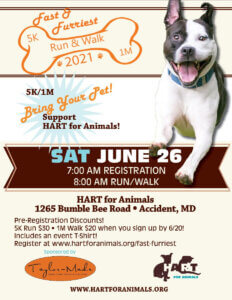 Fast & Furriest Fun Run & Walk 2021