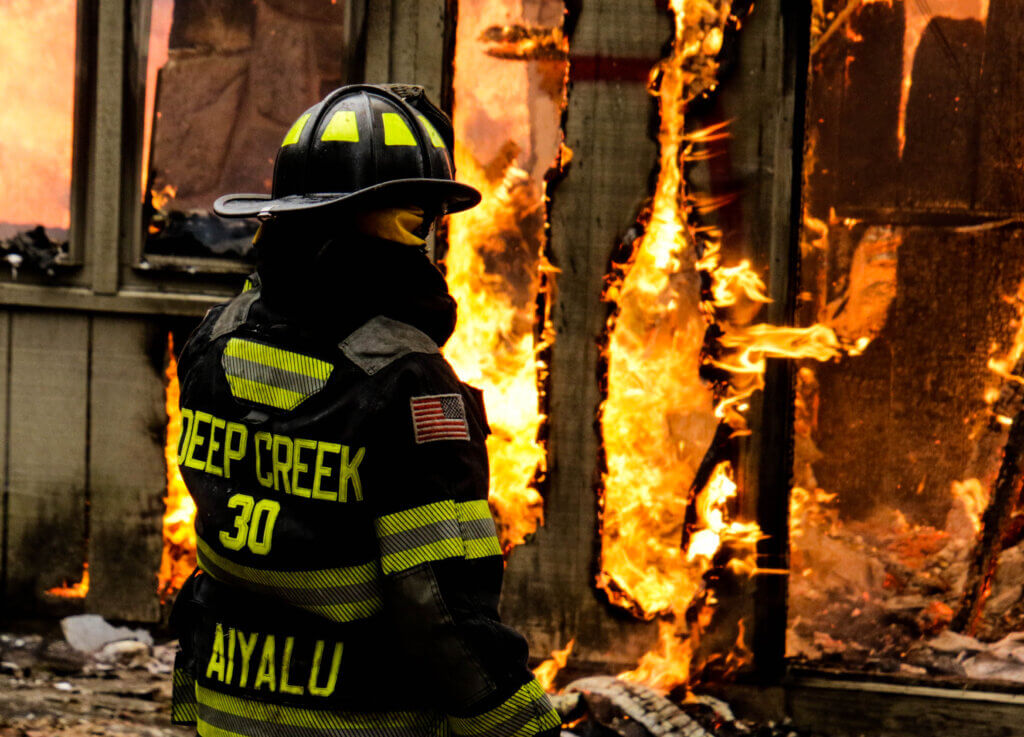 Grant Callery Fire Training Exercise at Deep Creek Lake, MD