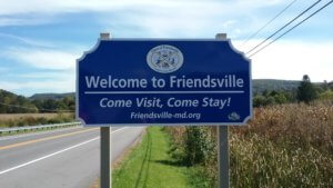 Friendsville New Sign - DCT