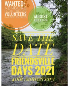 Friendsville Days 2021