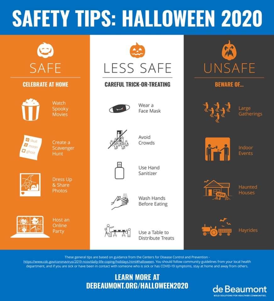 GC Health Dept Halloween Tips