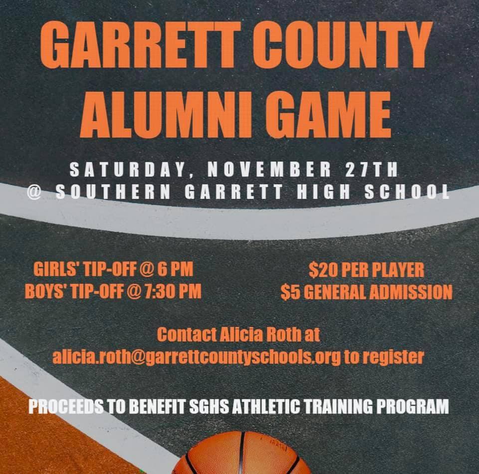 Garrett County Alumni Game