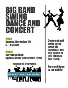 Garrett Jazz - Big Band Swing and Dance Concert