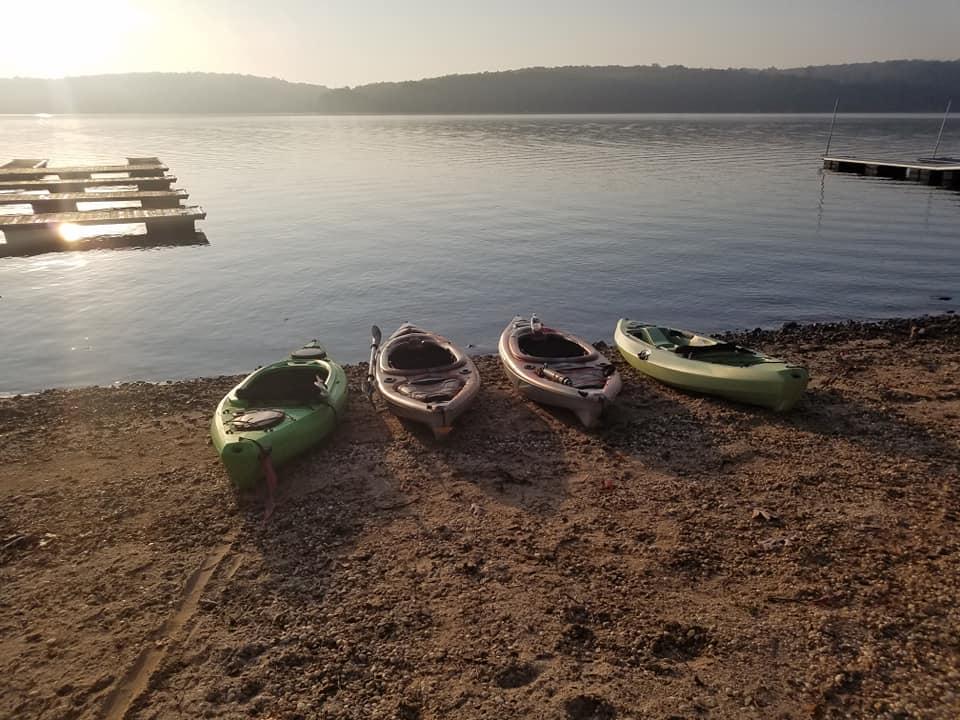 Georgann Gall Kayaks at Deep Creek Lake, MD