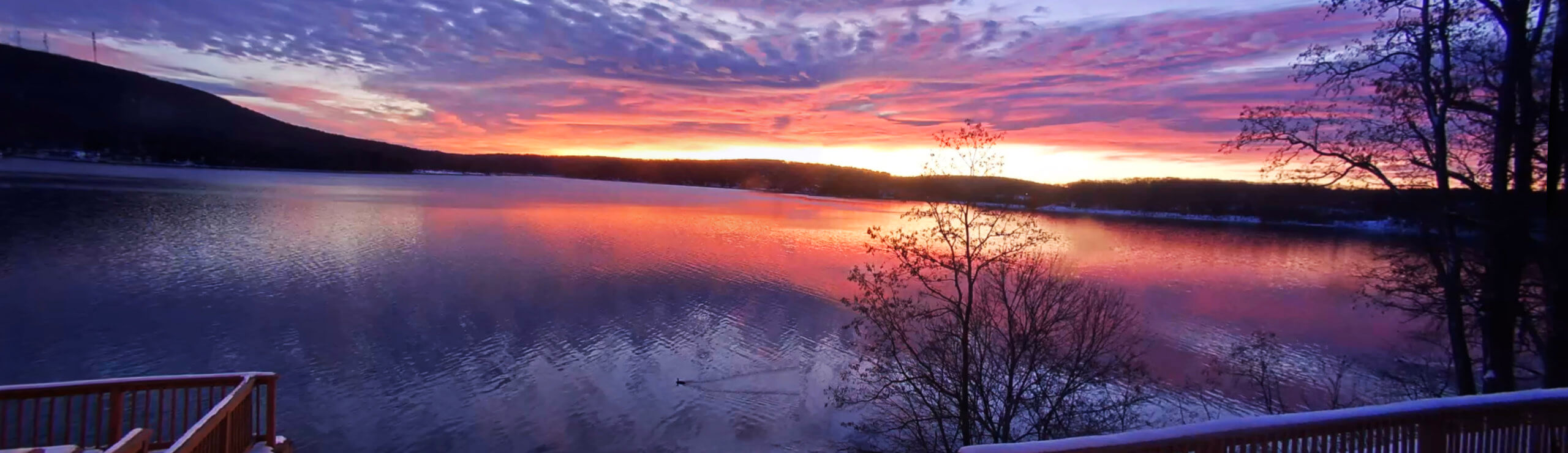 Good Morning Deep Creek Lake, MD from the Railey Realty Webcam