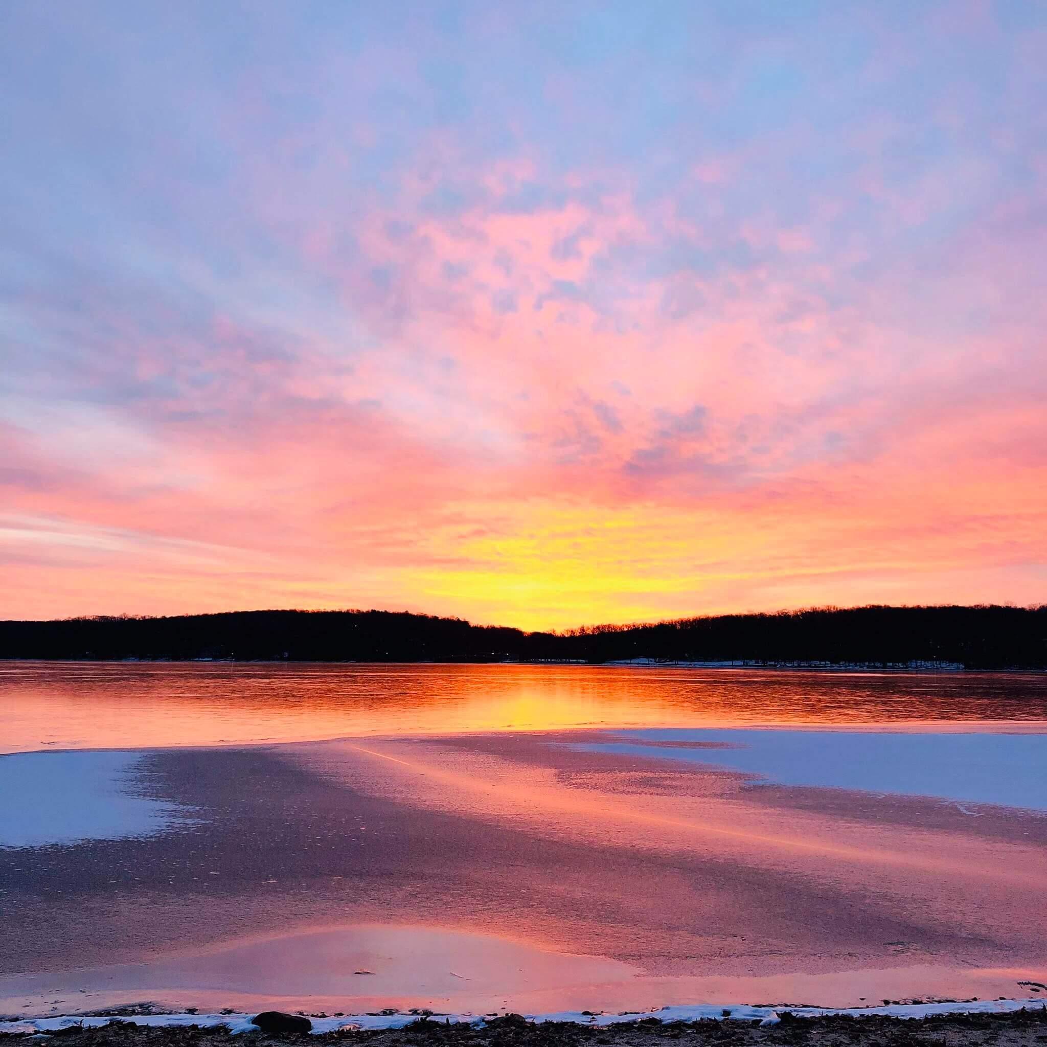 Holly Slusser Kern Sunrise at Deep Creek Lake, MD