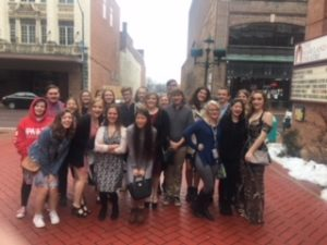 Northern and Southern Garrett Students Attend Tosca Opera