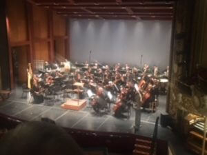 Orchestra at Tosca