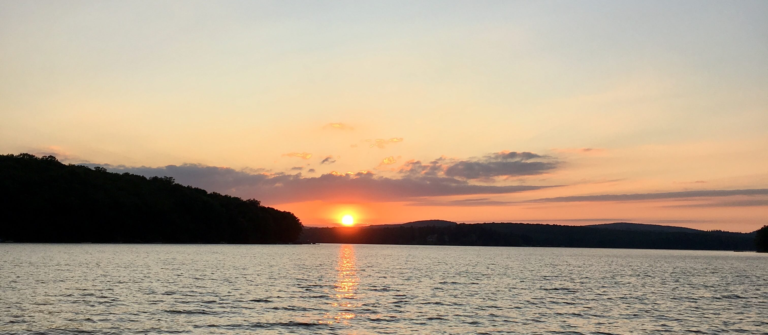 Deep Creek Lake, MD Sunset by Scon Boccuti