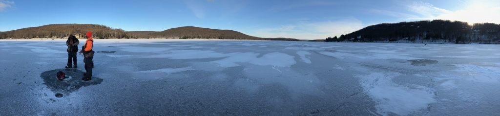 Ice Fishing on Deep Creek Lake