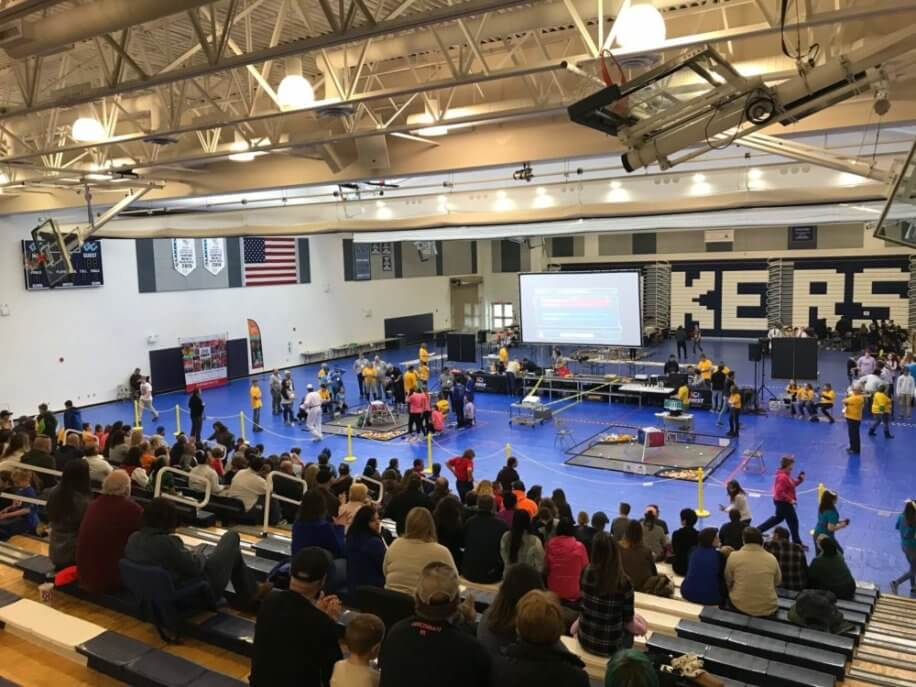 Garrett County Rover Ruckus January 2019 Robotics Competition at Deep Creek Lake, MD