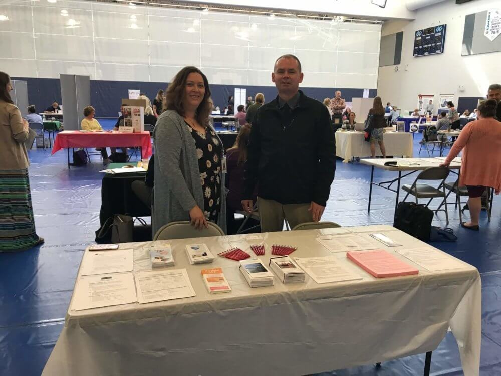 Department of Social Services at the Garrett College Job Fair