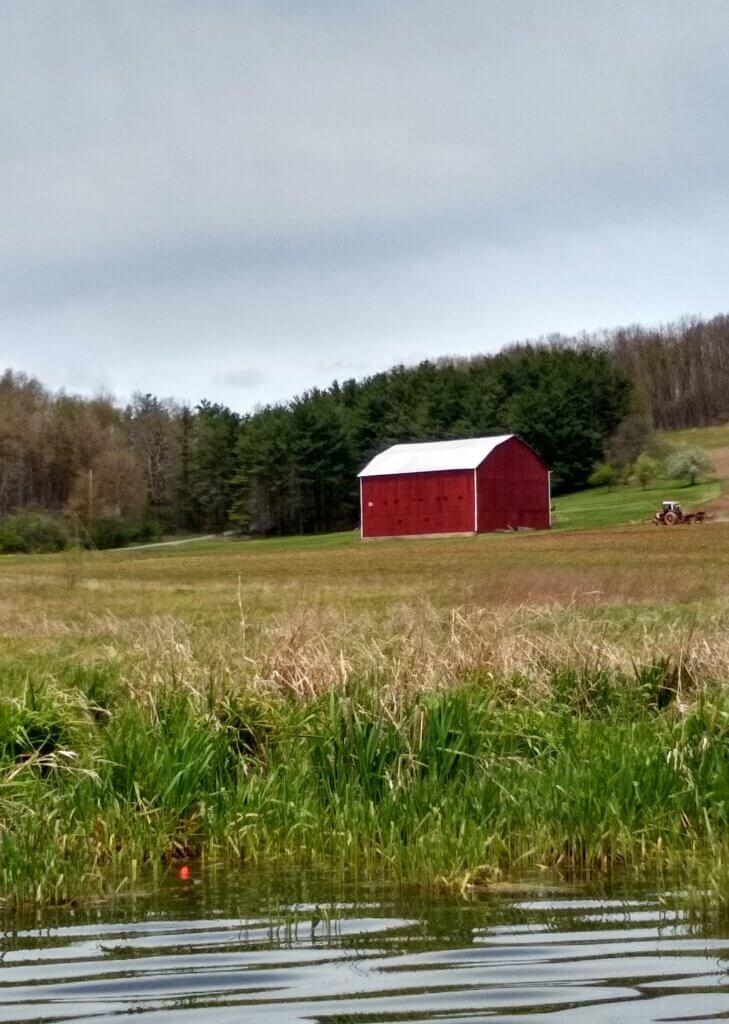 Jean Tumbarello Barn on Beckman's Peninsula at Deep Creek Lake, MD
